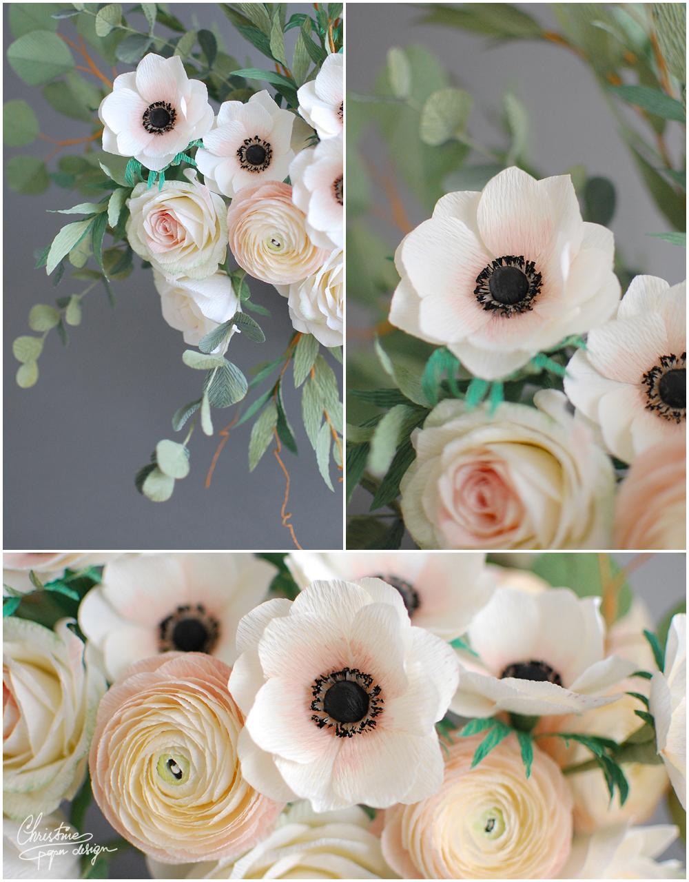 Christine paper design -anemone