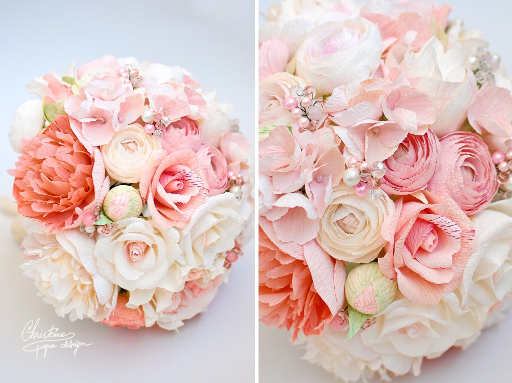 Christine paper design bridal bouquet (4)