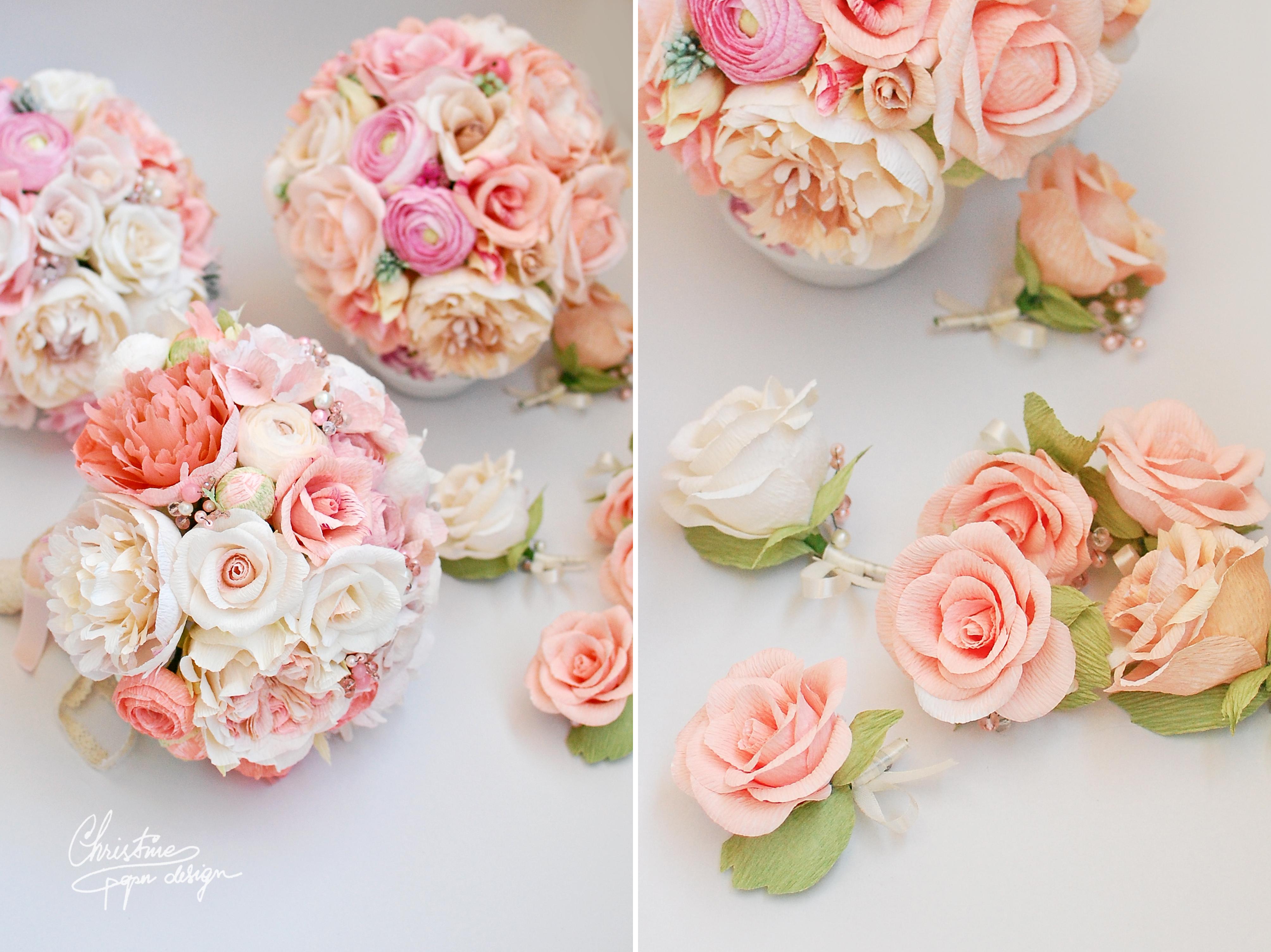 Soft pastel wedding flowers for beautiful Alexandra | Christine ...