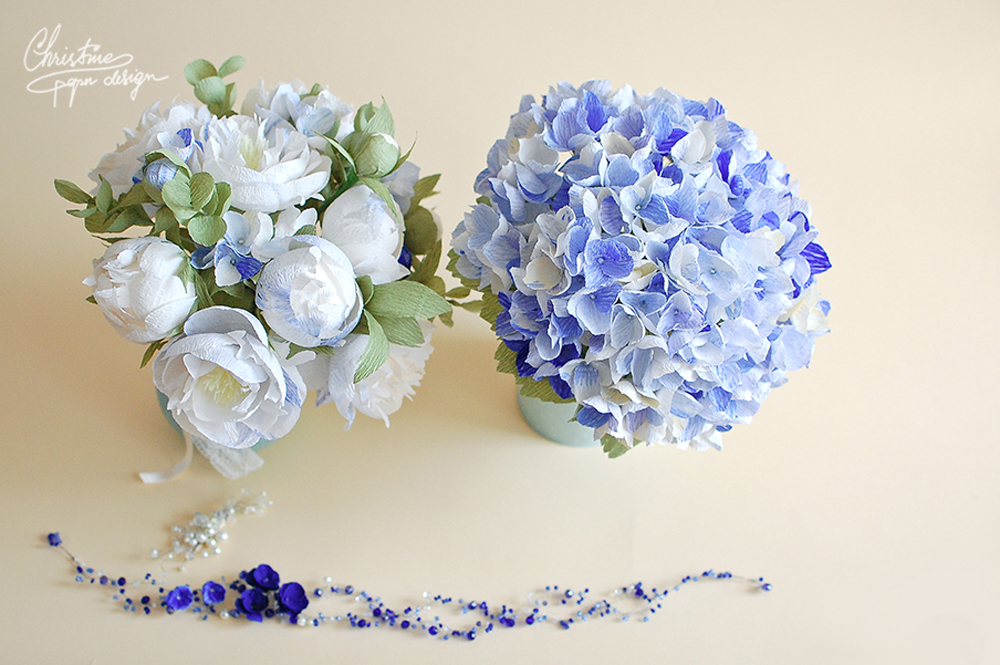 1 Christine paper design - bridal bouquets