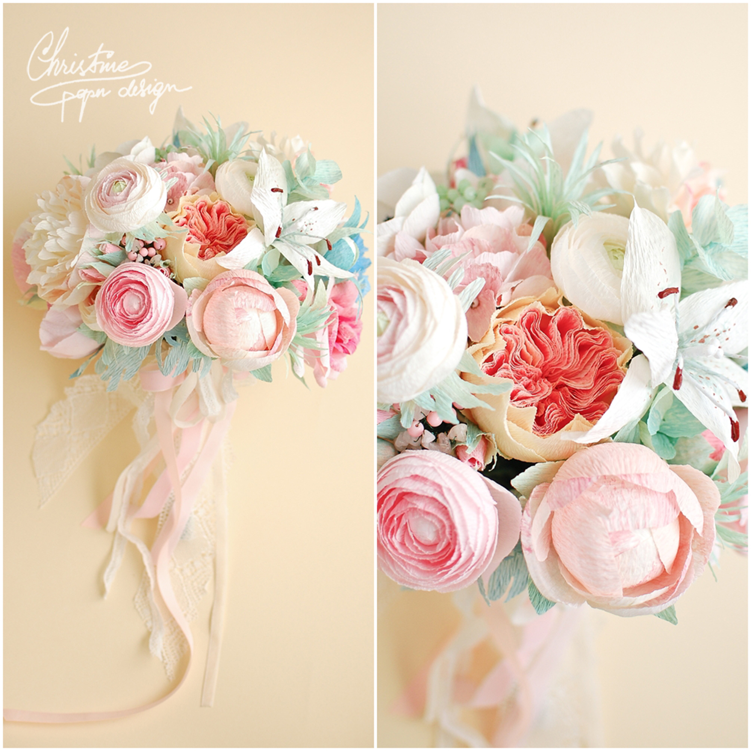 1.Christine paper design - wedding