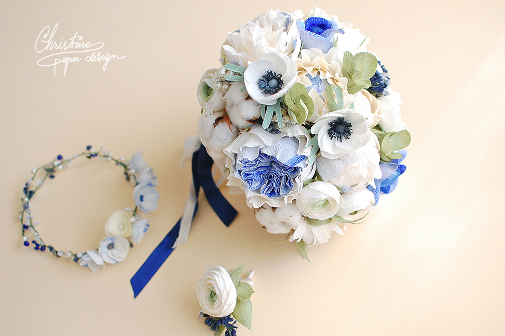 5.Christinepaper design - bridal bouquet
