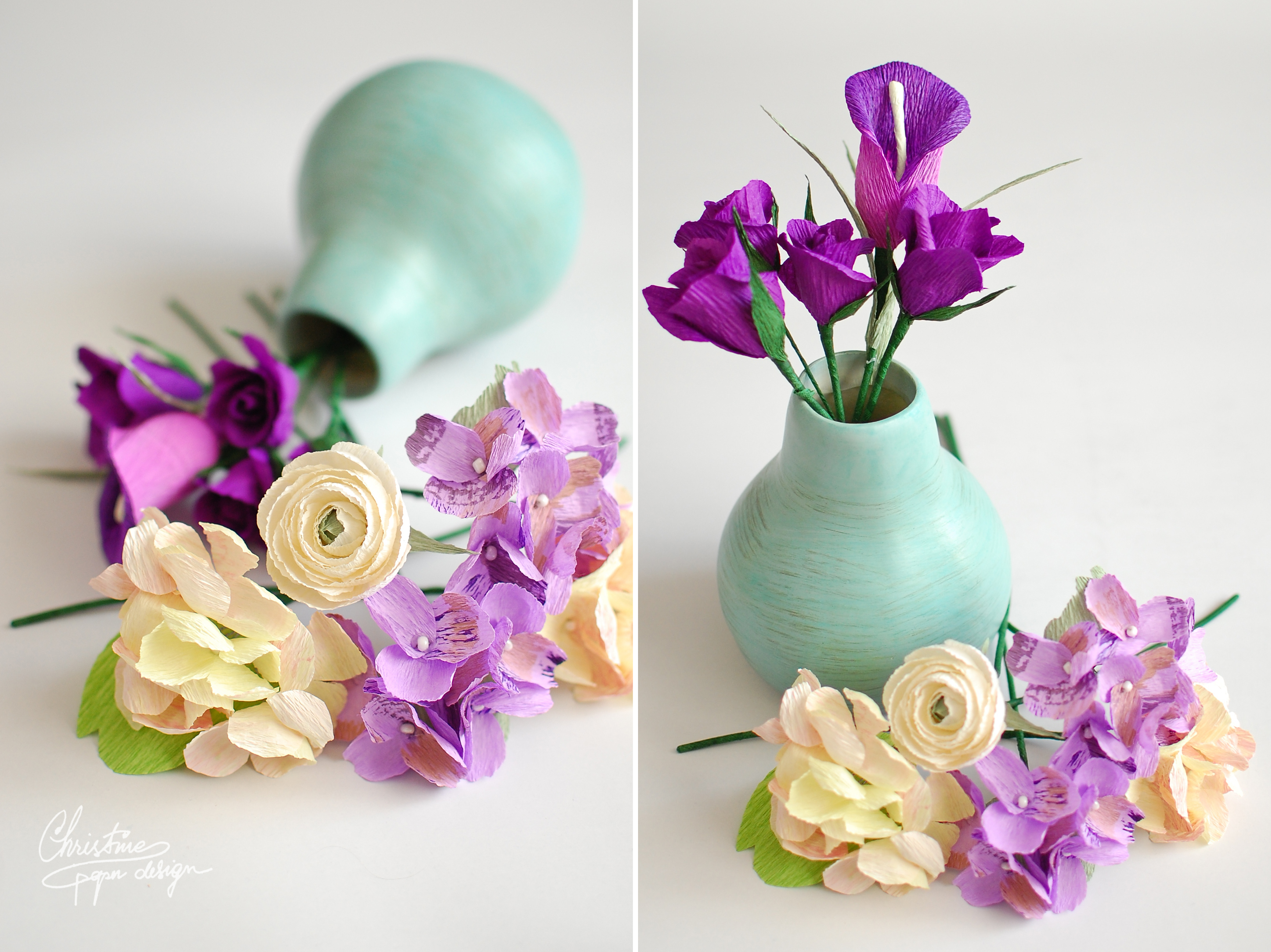 Christine paper design - paper flowers (4)