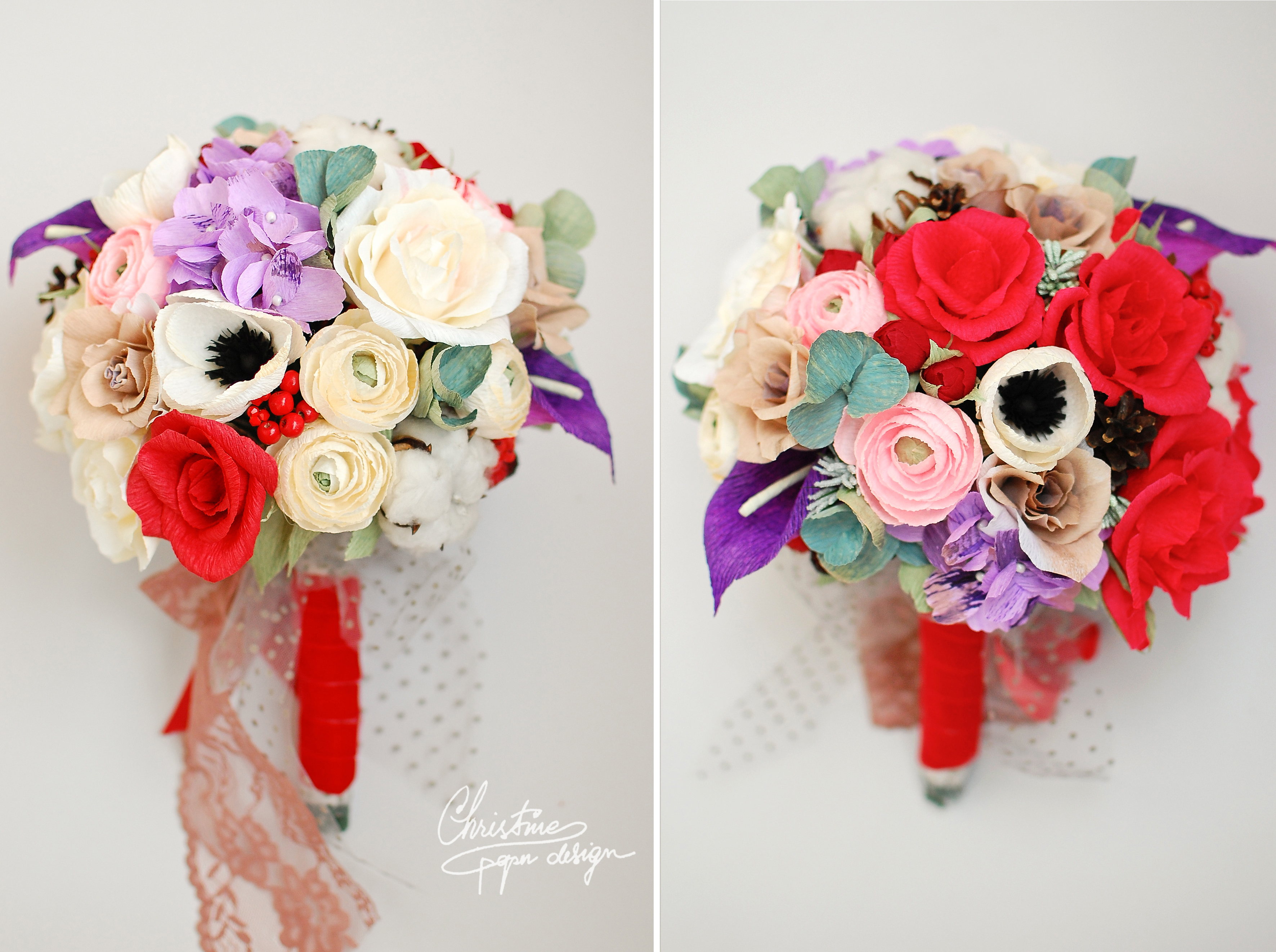 Christine paper design - paper flowers (5)