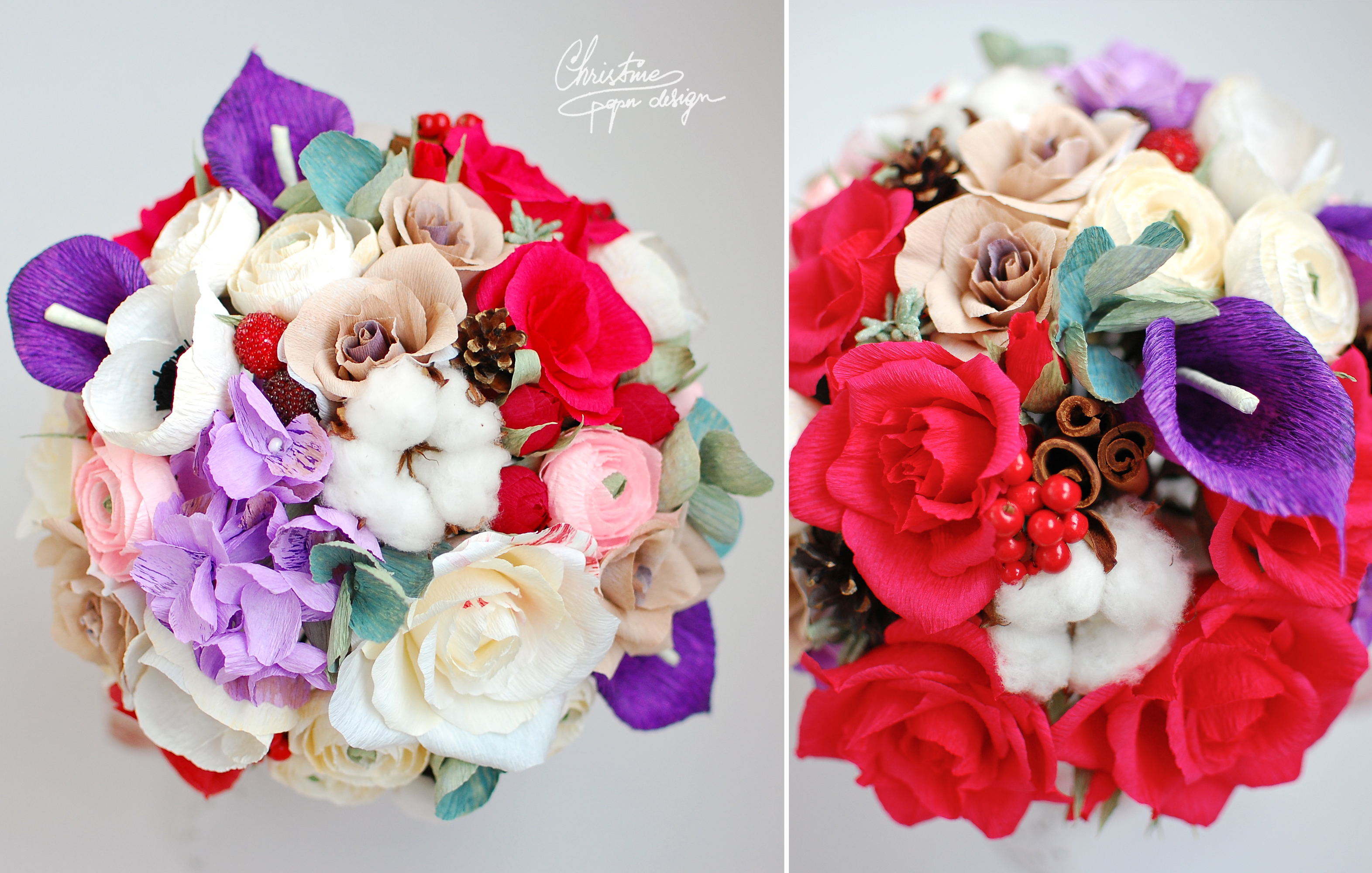 Christine paper design - paper flowers (6)