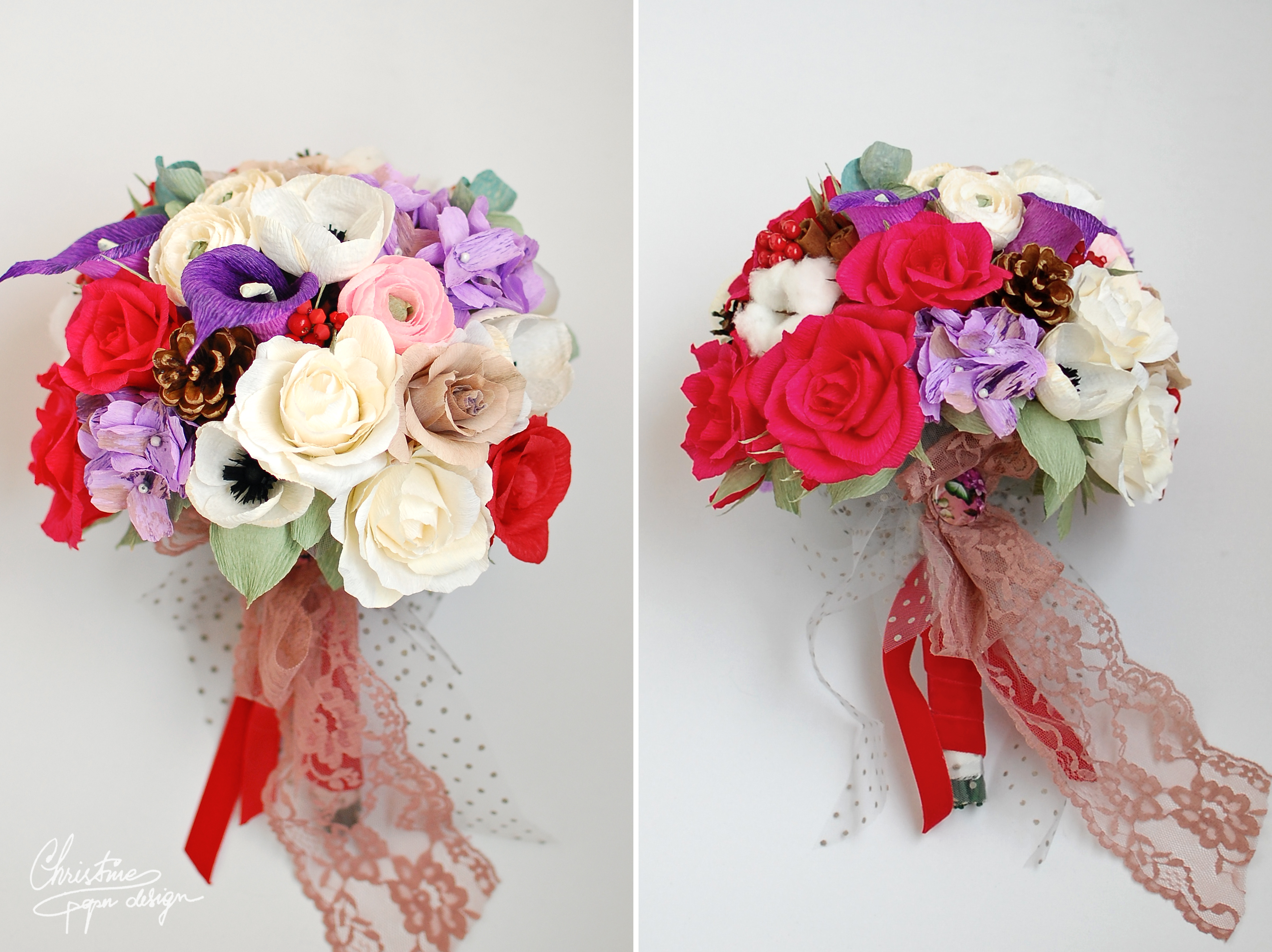 Christine paper design - paper flowers (9)