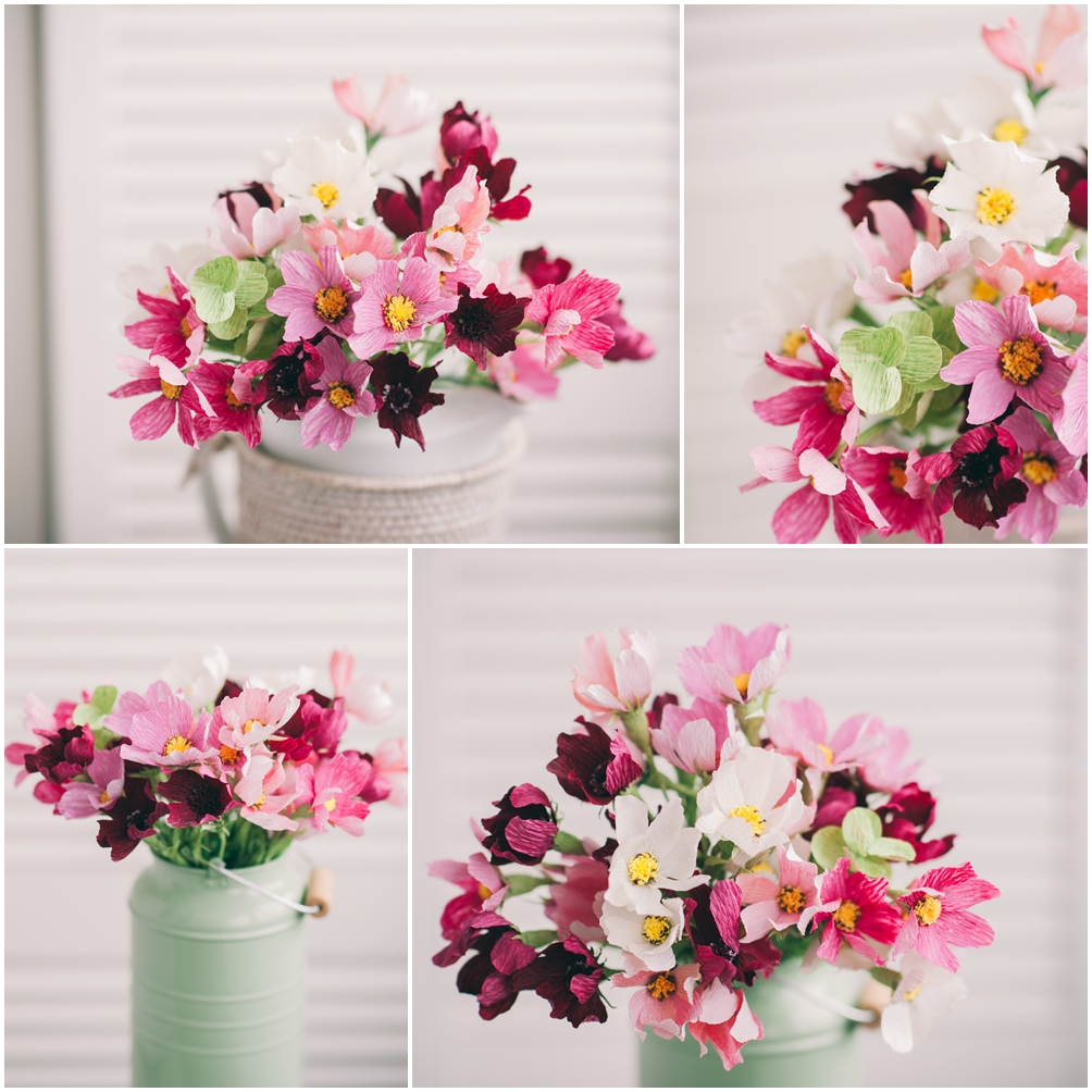 Christine paper design flowers - photo by DeersPhotography