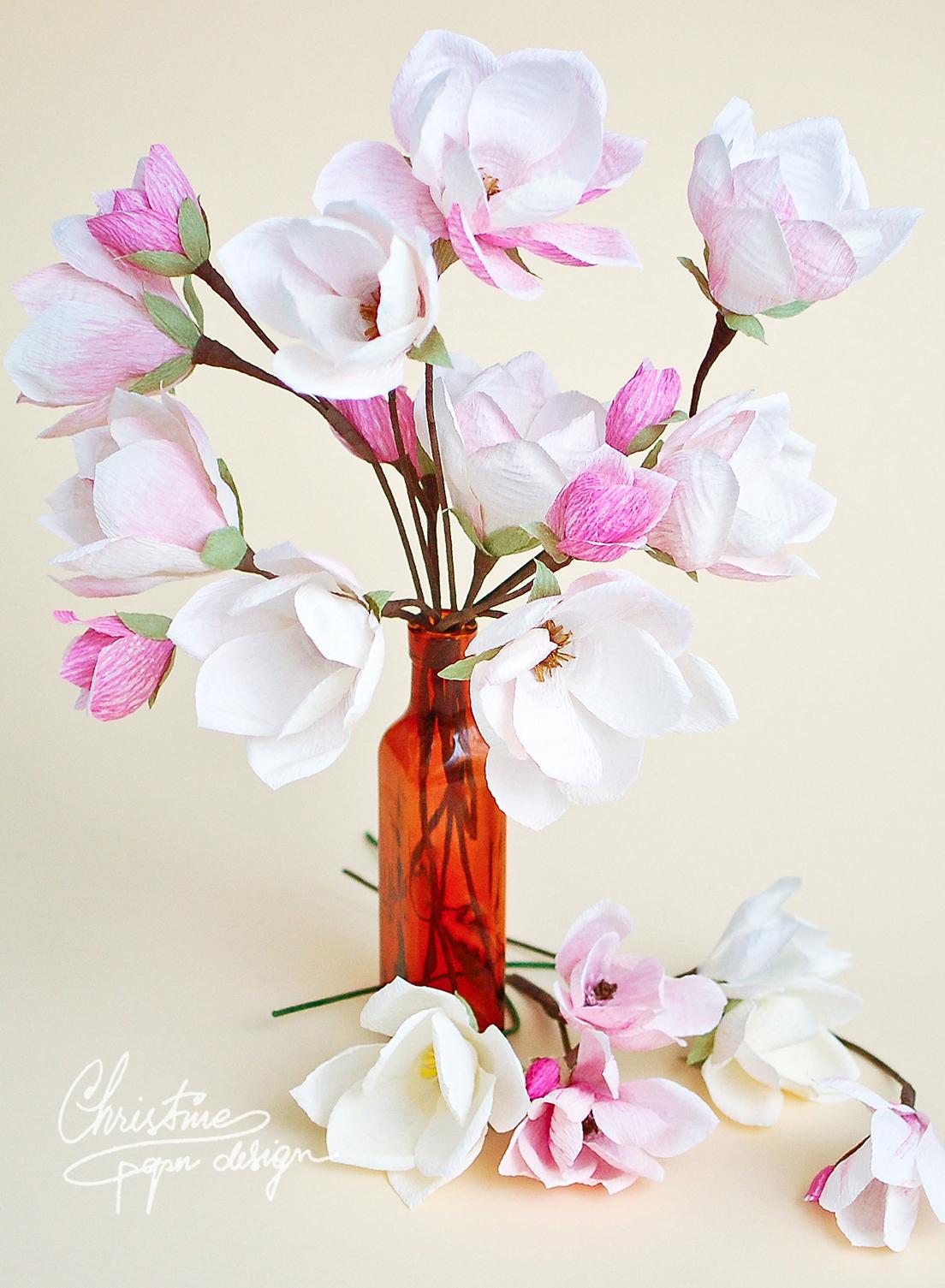 Christine paper design - paper diy magnolia 3