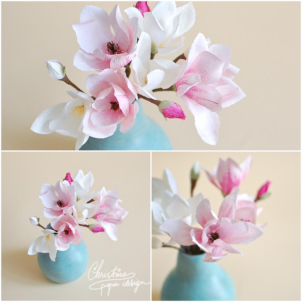 Christine paper design - spring paper flowers (1)