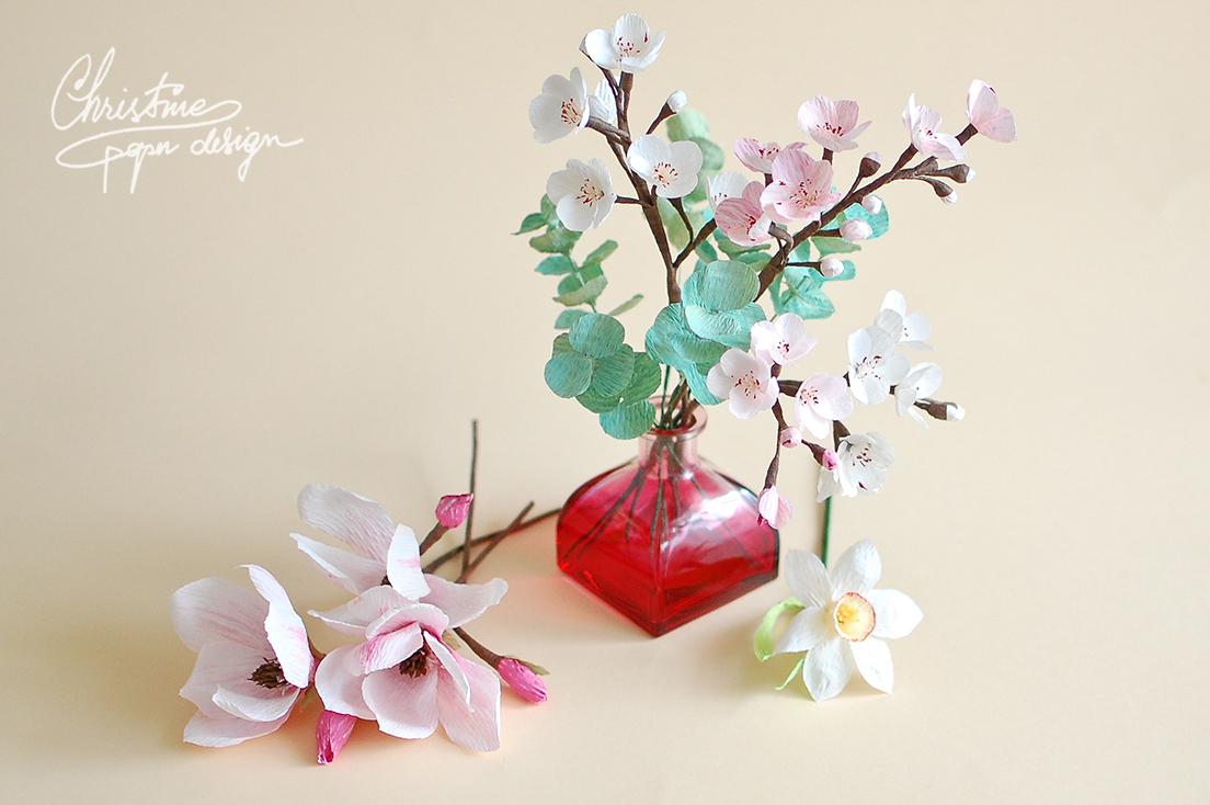 Christine paper design - spring paper flowers (2)
