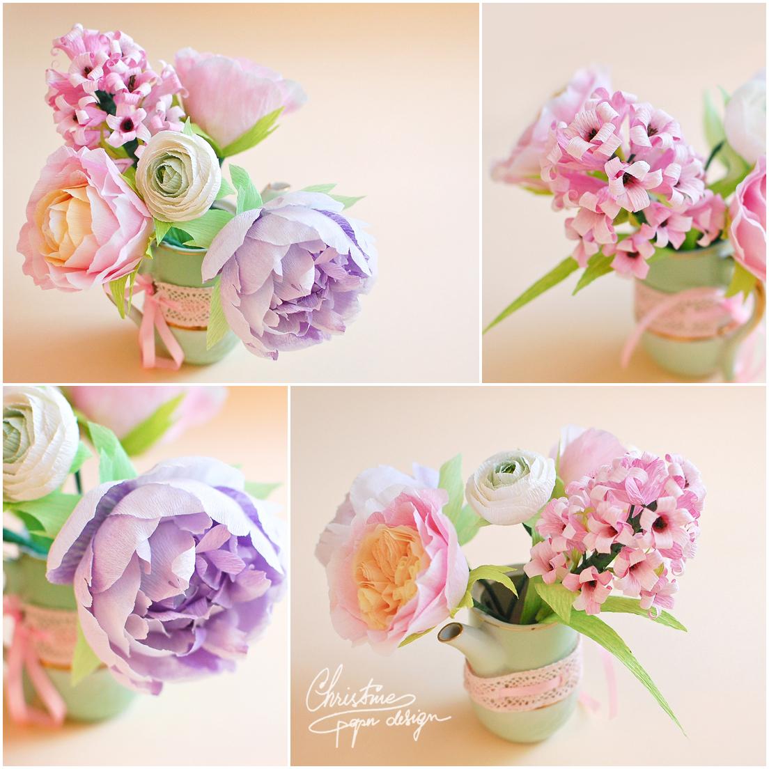 Christine paper design - spring paper flowers (3)