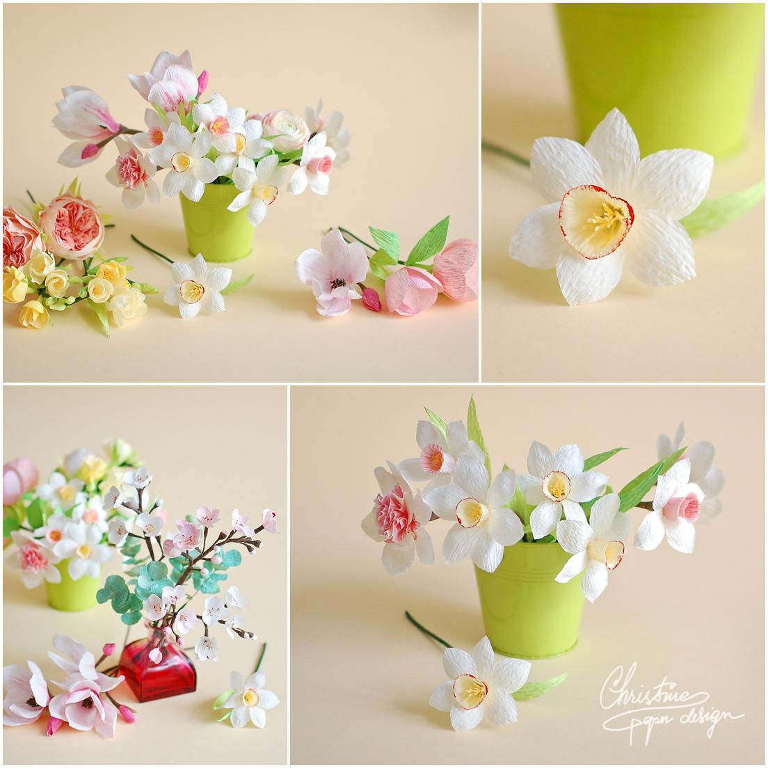 Christine paper design - spring paper flowers (6)