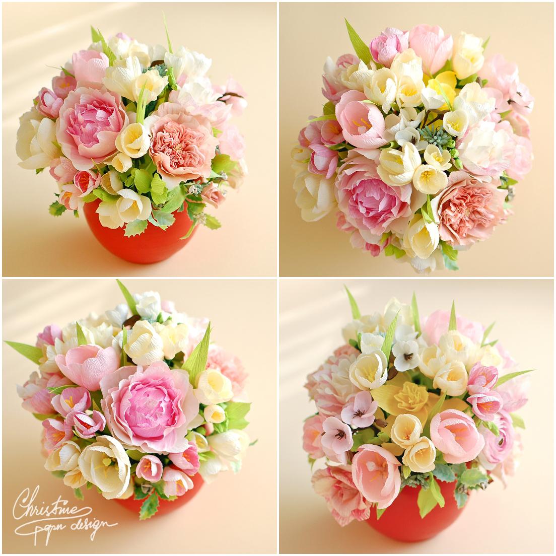 Christine paper design - spring paper flowers (7)
