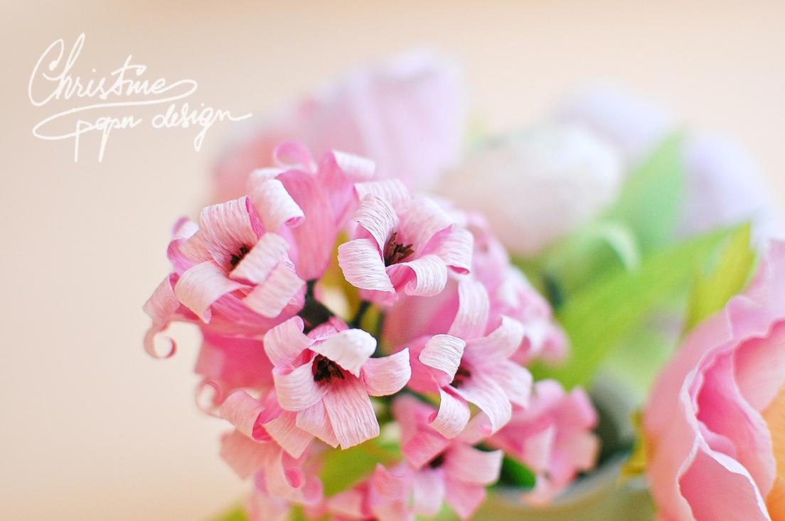 Christine paper design - spring paper flowers