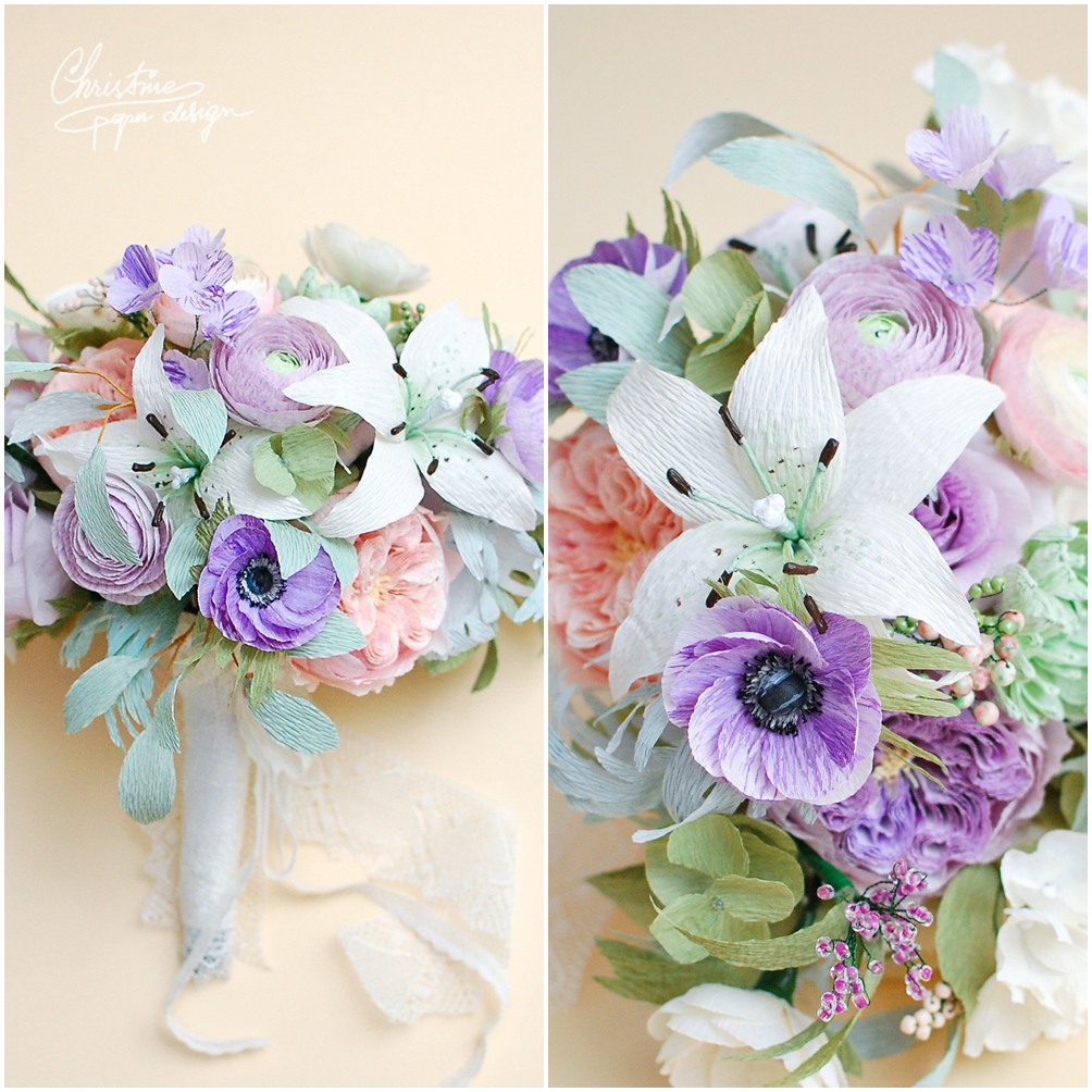 Christinepaperdesign - bridal bouquet