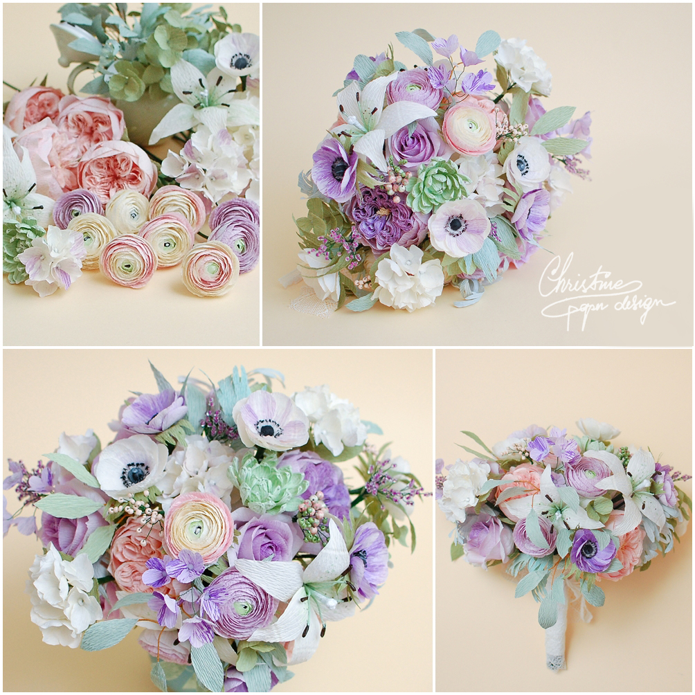 Christinepaperdesign - bridal bouquet2