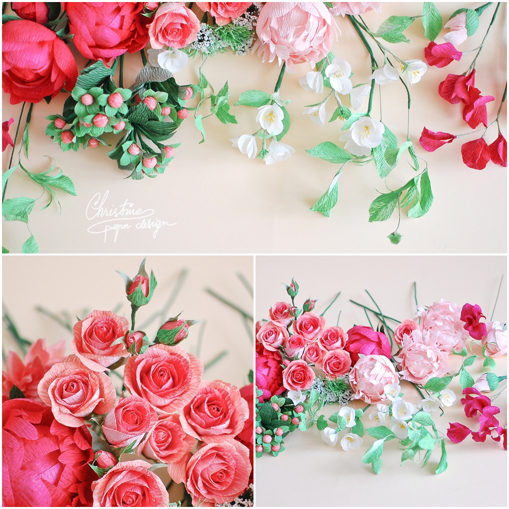 Christinepaperdesign - paper flowers