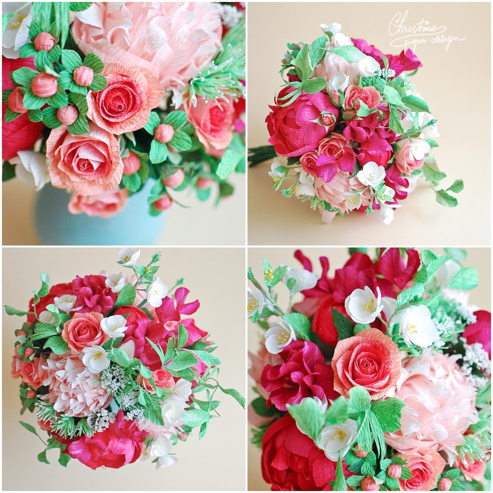 Christinepaperdesign - paper flowers2
