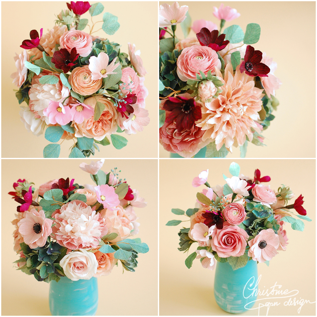 paper flowers centerpiece paper flowers centerpiece 2