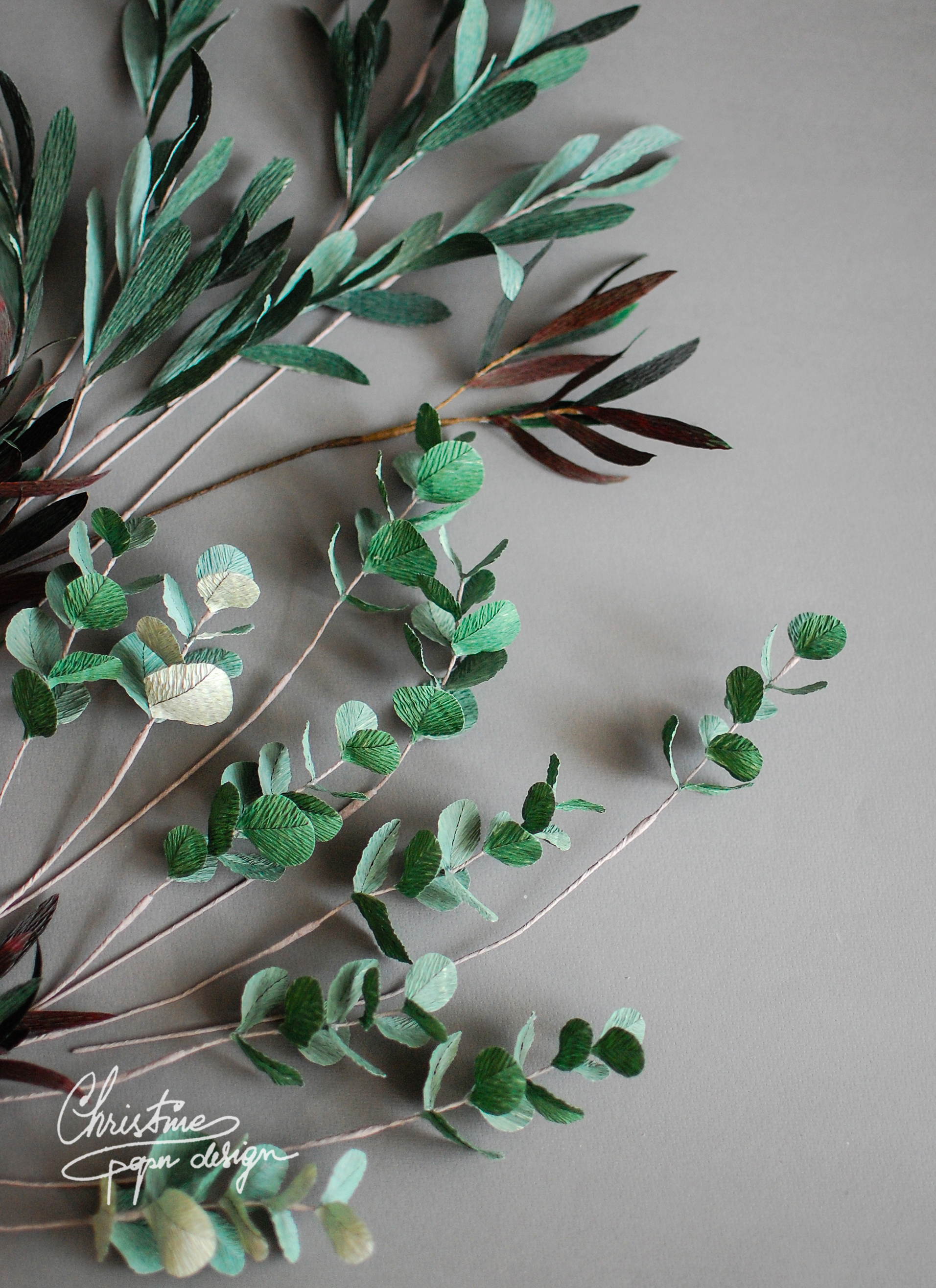 paper greenery - Christinepaperdesign (2)