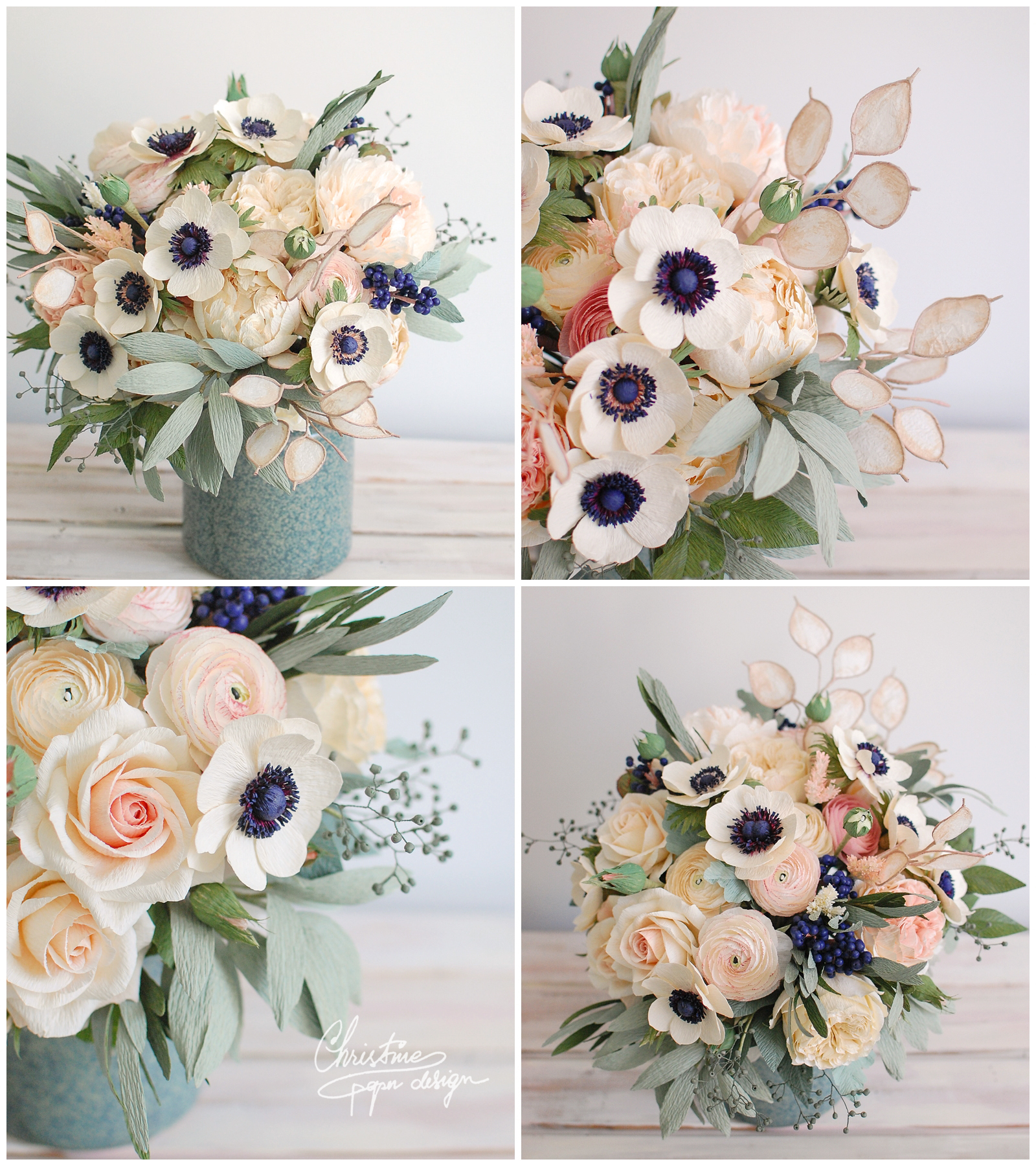 tally's bridal bouquet - Christinepaperdesign (3)